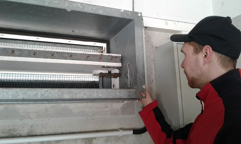 Feuerschutz Oberfranken – Wartung Brandschutzklappen